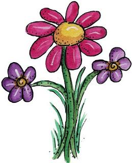 Imagem para decoupage de flor