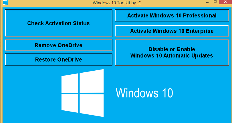 activator win 10 enterprise