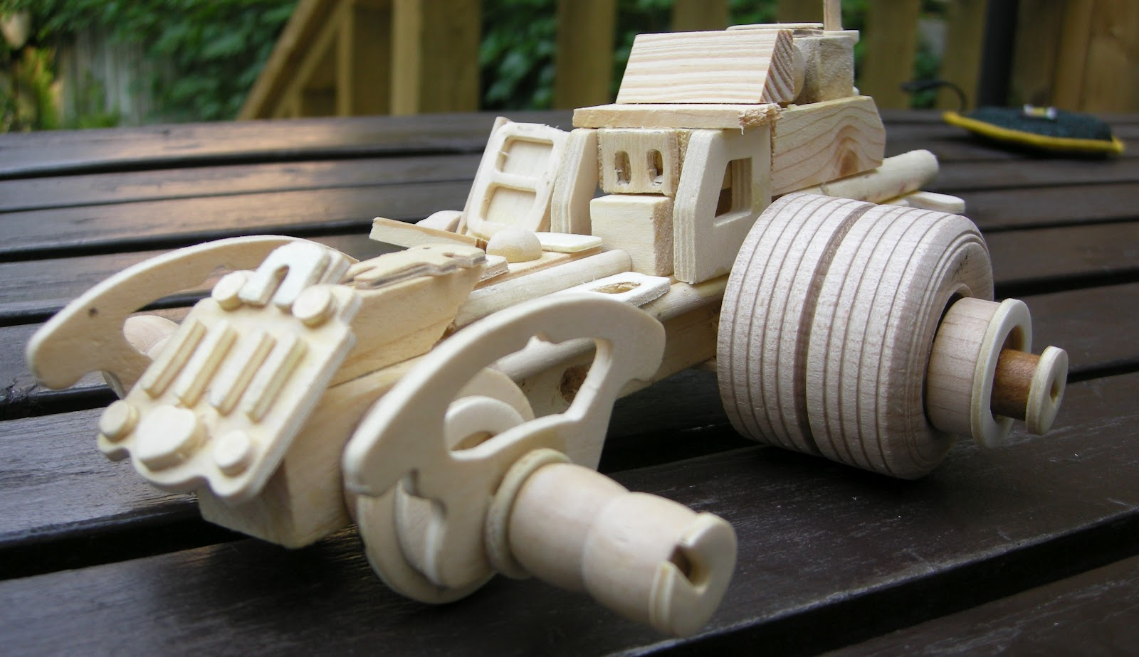 Any How Town Building Popsicle Stick Vehicles War Wheels