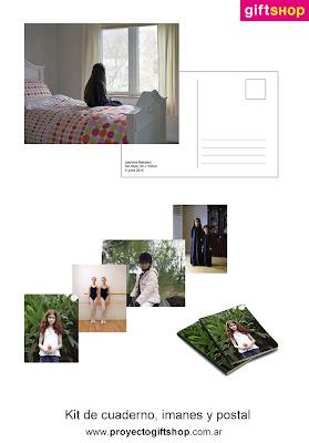 arteBA'11 | Kit de cuaderno, imanes y postal