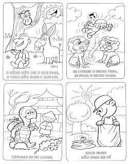ditados populares ilustrados