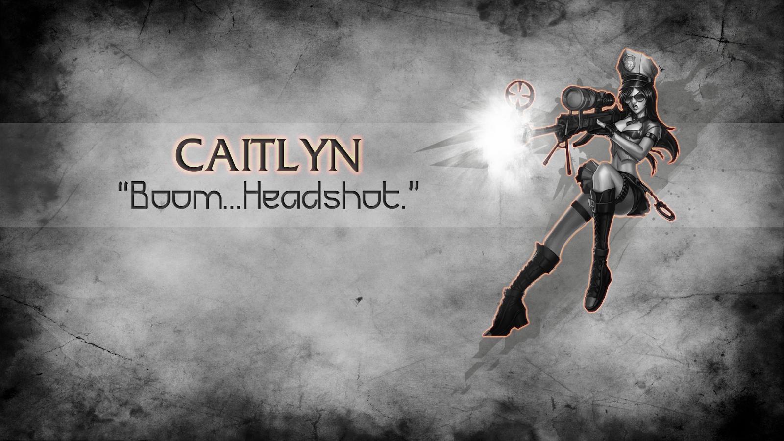 Caitlyn League of Legends Wallpaper, Caitlyn Desktop Wallpaper