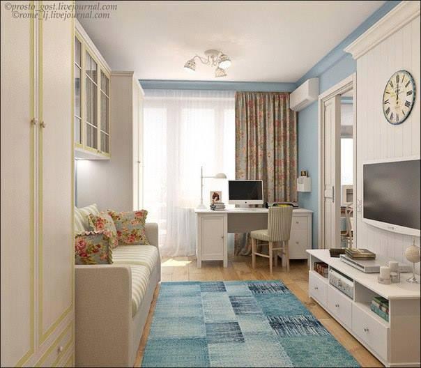 Desain apartemen ruangan santai