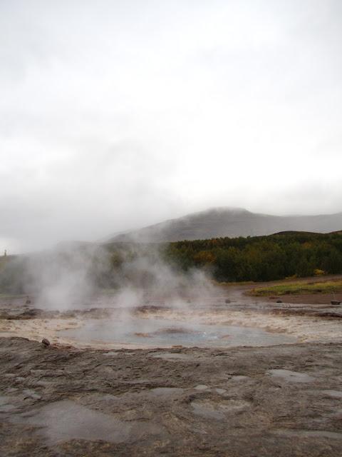 Geysir Strokkur in Iceland.