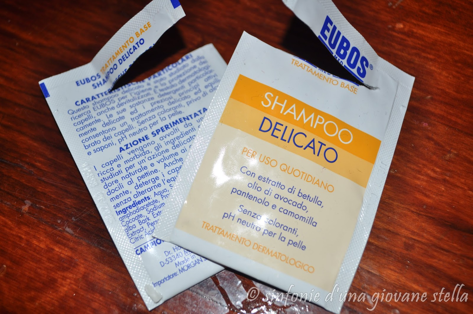 miniprova ● eubos shampoo delicato