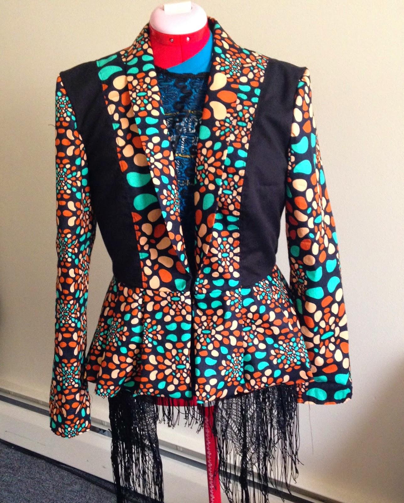 Ankara Blazer Designs | Zichie Designs Special Request Ankara Blazer