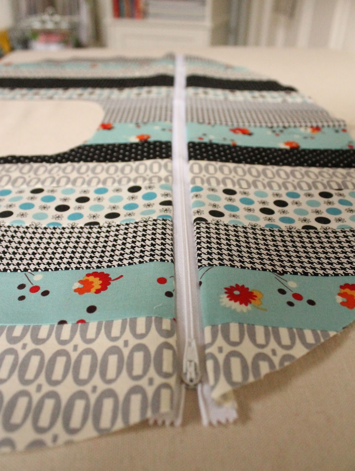 Sew Lux Fabric : Blog: Design Challenge: Patchwork Boppy Cover Tutorial