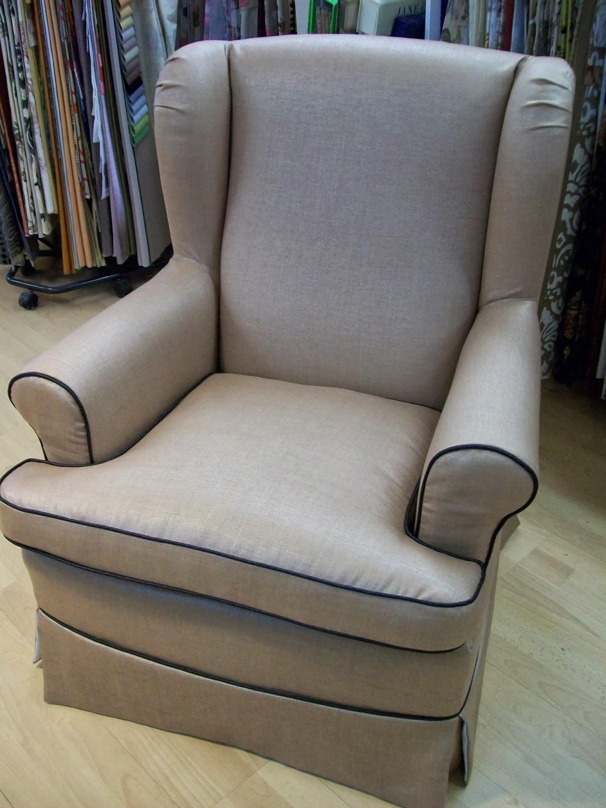 L 39 housse amovible sur fauteuil anglais for Housse de coussin anglais
