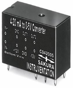 4-20mA to 0-5V Converter