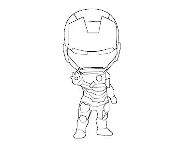 iron man mark 42 colou coloring page time i - Iron Man Coloring Pages Mark
