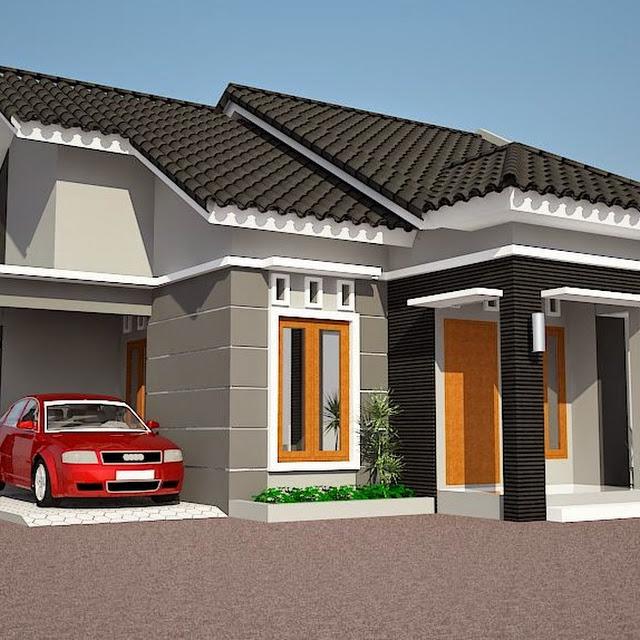 kumpulan gambar rumah terbaru ide model atap rumah