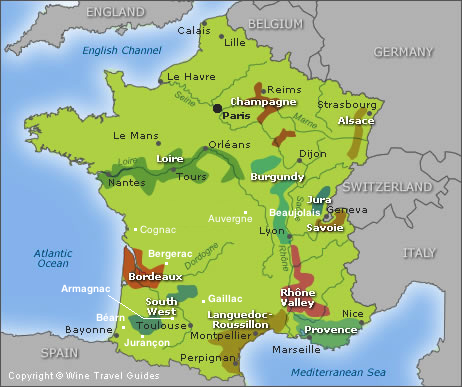 O Bartu Avci Wine Maps Of France Italy And Spain