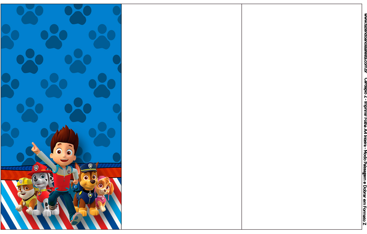 This is a picture of Légend Paw Patrol Borders
