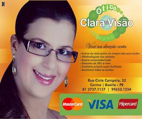 Publicidade - Ótica Clara Visão