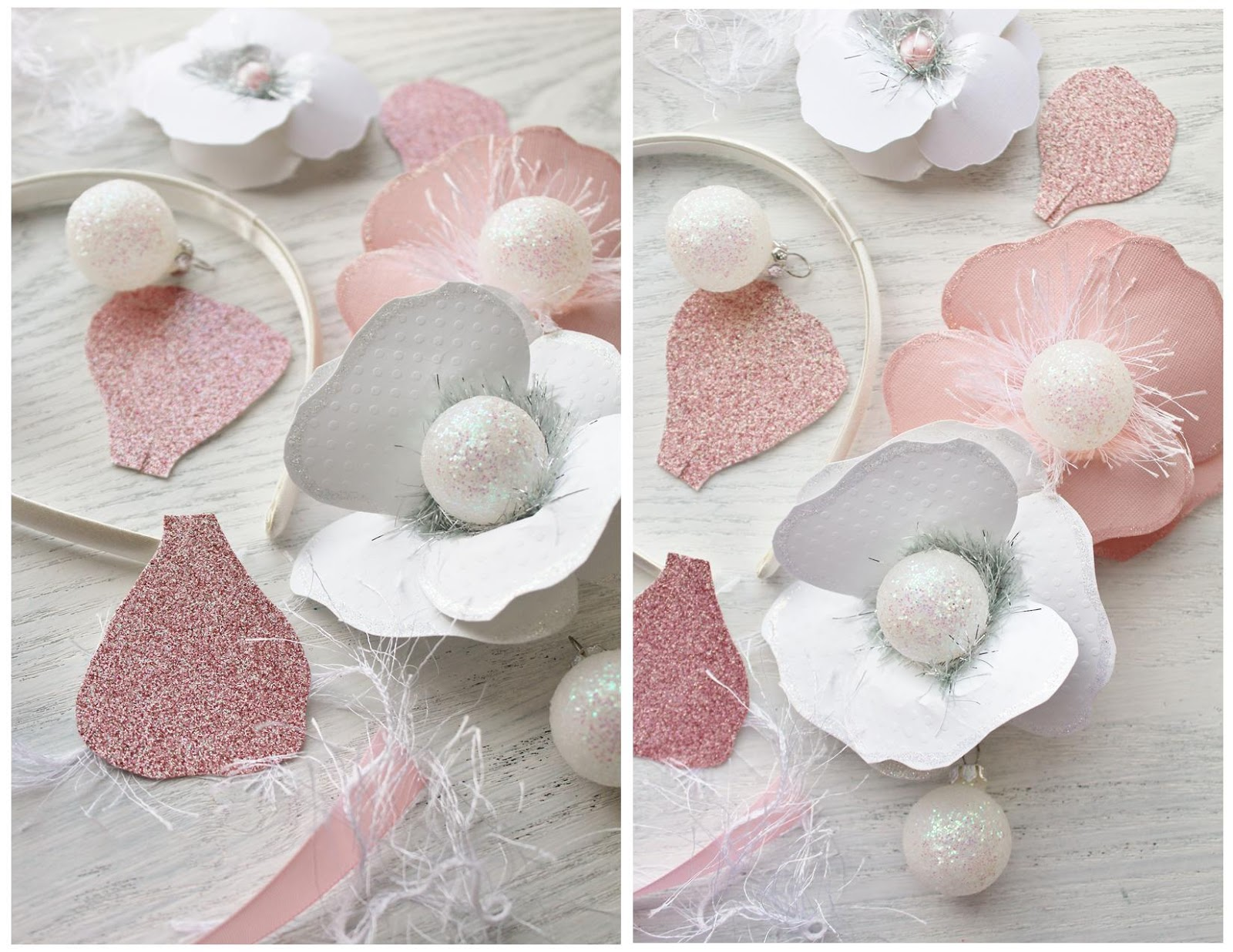 Icing Designs DIY Paper Floral Crown