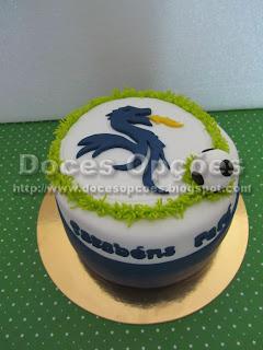 bolo aniversário dragão fcp