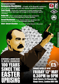 MXM event: 100 Years Since the Irish Easter Uprising / 6pm Fri 13 May, Marx Library EC1R 0DU