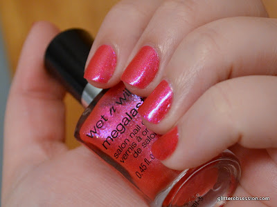 Wet N Wild Punch It Up swatch, Wet N Wild Punch It Up nail swatch
