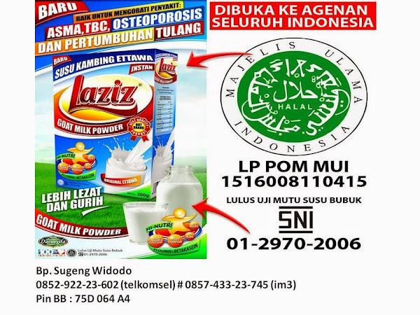 Pusat Grosir Distributor Jual Susu Kambing Etawa