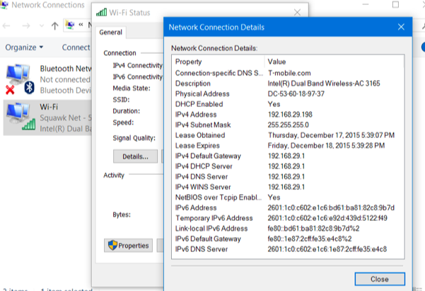 how to connect to another ip address