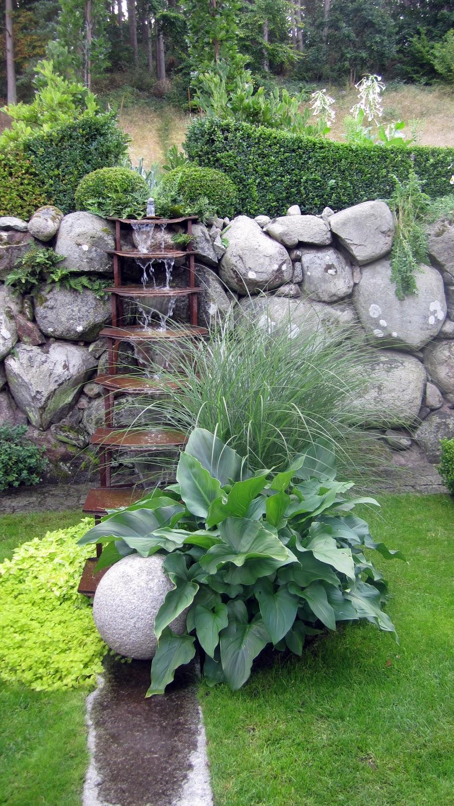 I vått och torrt trädgårdsdesign: ett fantastiskt vacker trädgård!