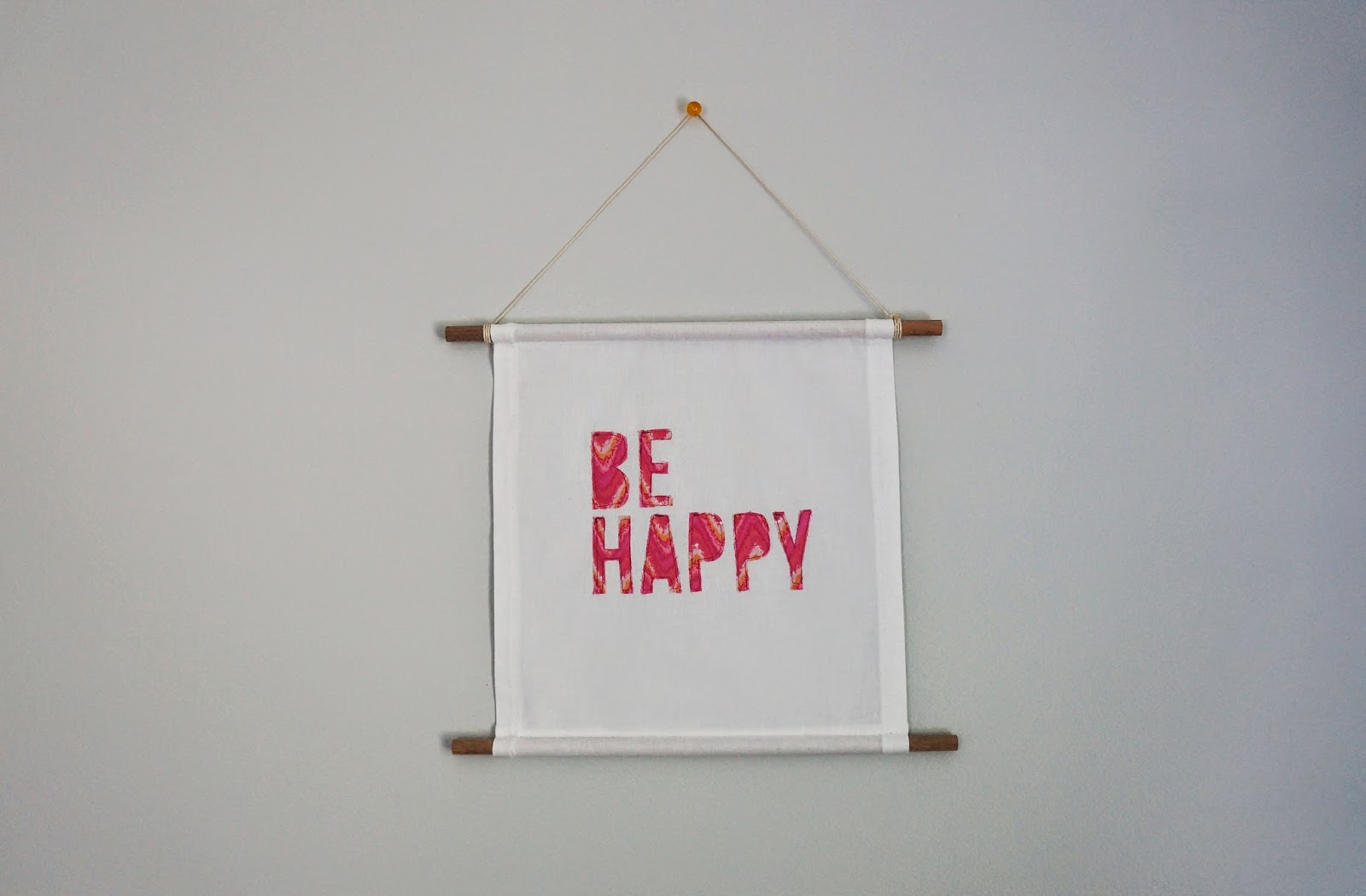 be happy banner foxglo.etsy.com