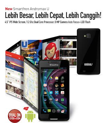 Handphone Android Smartfren Andromax U