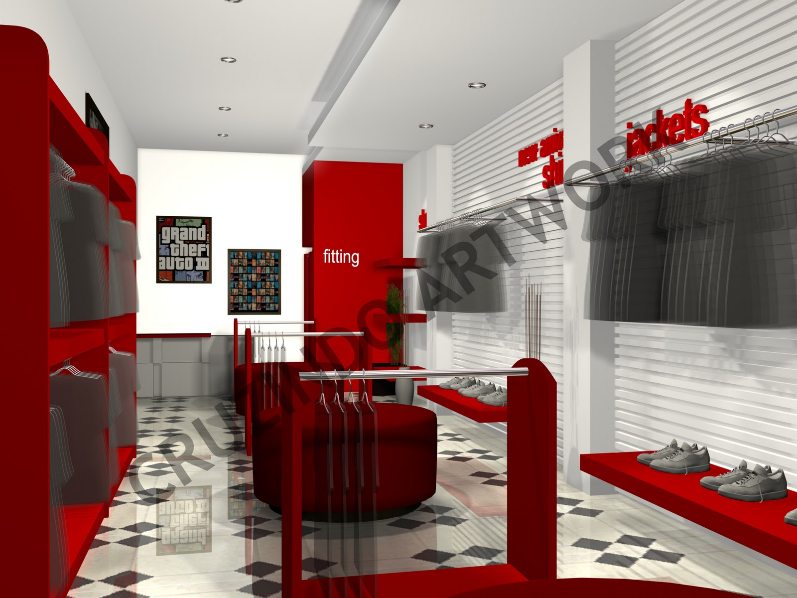 Design Toko Distro Design Stores Distros