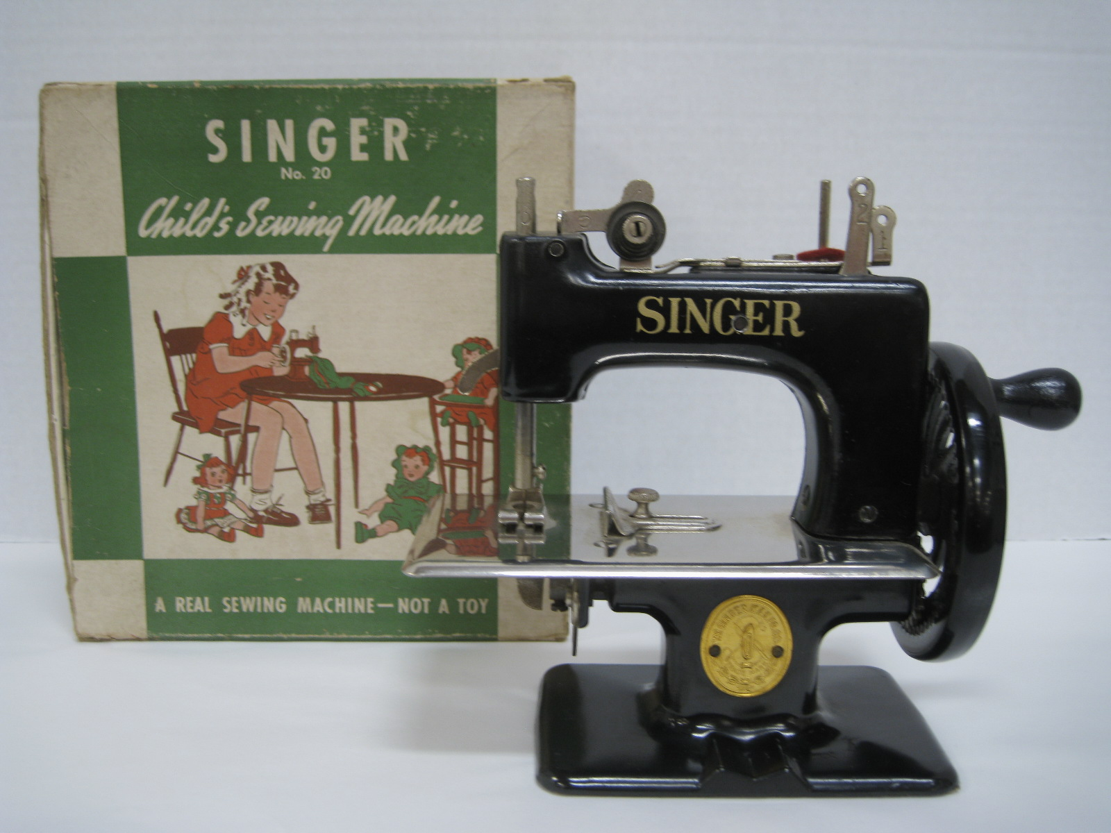 singer child s sewing machine