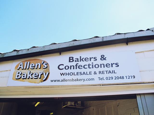 Allen's Bakery Cardiff