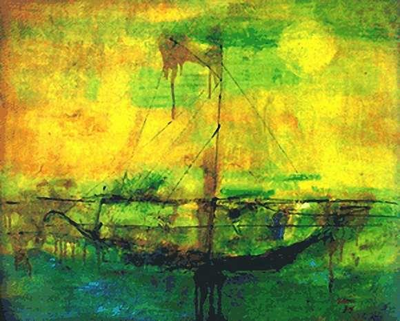 ... zaini karya lukisan aliran impressionisme 5 aliran ekspressionisme
