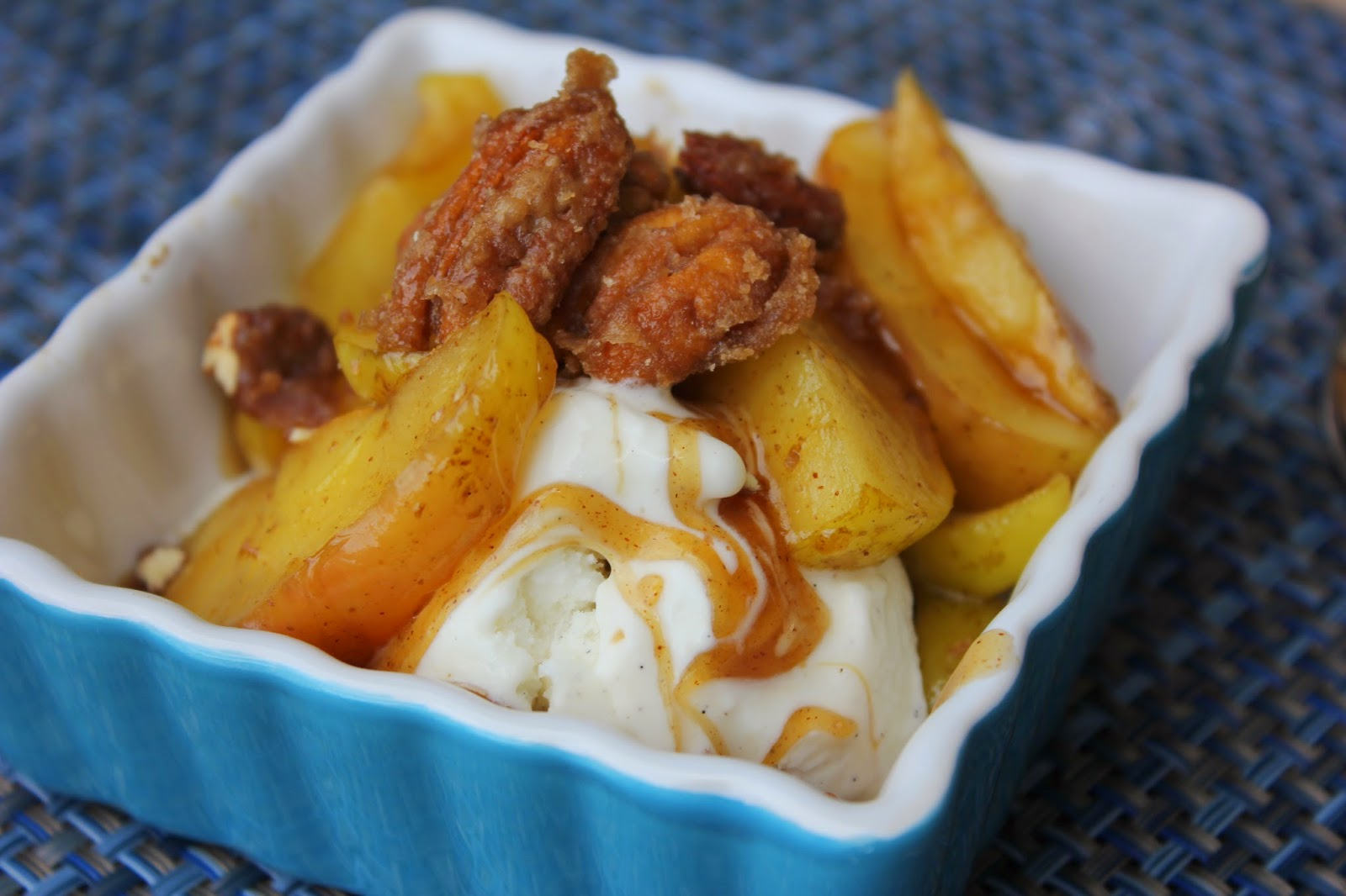 Caramel Apple Pie Topping, Recipe:  Dessert, Recipe:  Pie, Deals to Meals, candied nuts