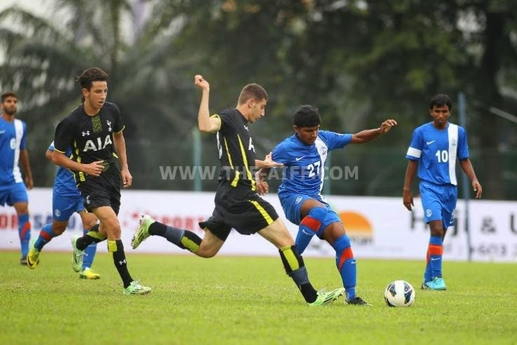 AIFF Elite Academy 1-3 Tottenham Hotspur