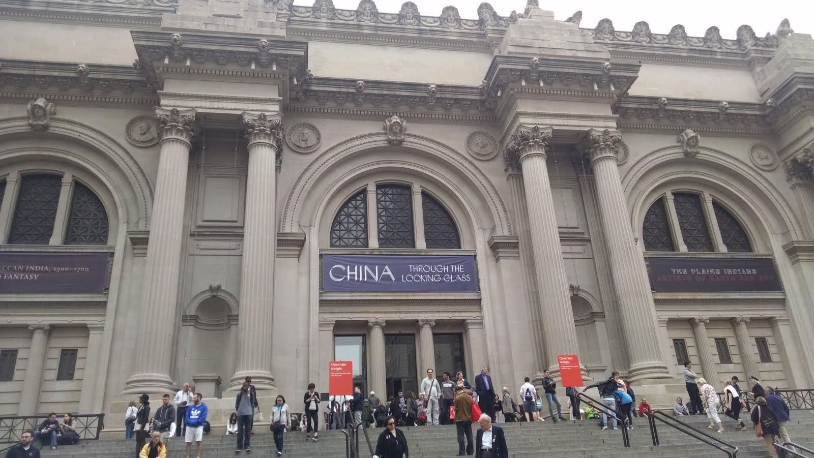 Frente al Metropolitan Art Museum