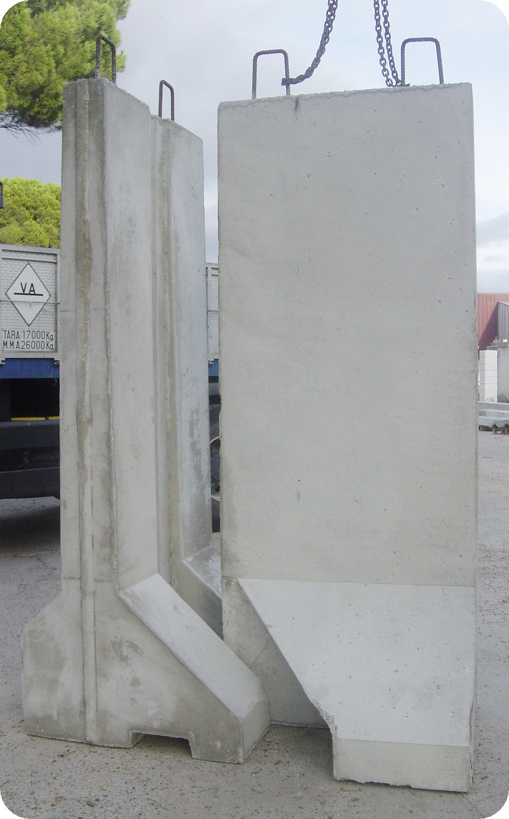 Separadores de hormig n doble muro en hormig n o muros de for Precio metro cubico hormigon 2017