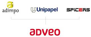 Logo Adveo - antigua Unipapel