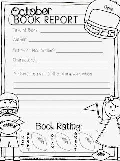 book report 1