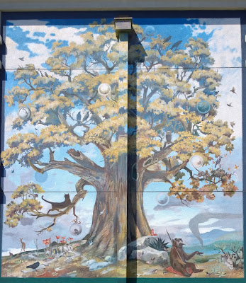 "Billy Davis ""Sanctuary"" Mural at Walgreens on 15th Ave E."