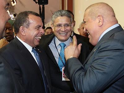 Pepe Lobo, Esdra Amado López, Hugo Chávez