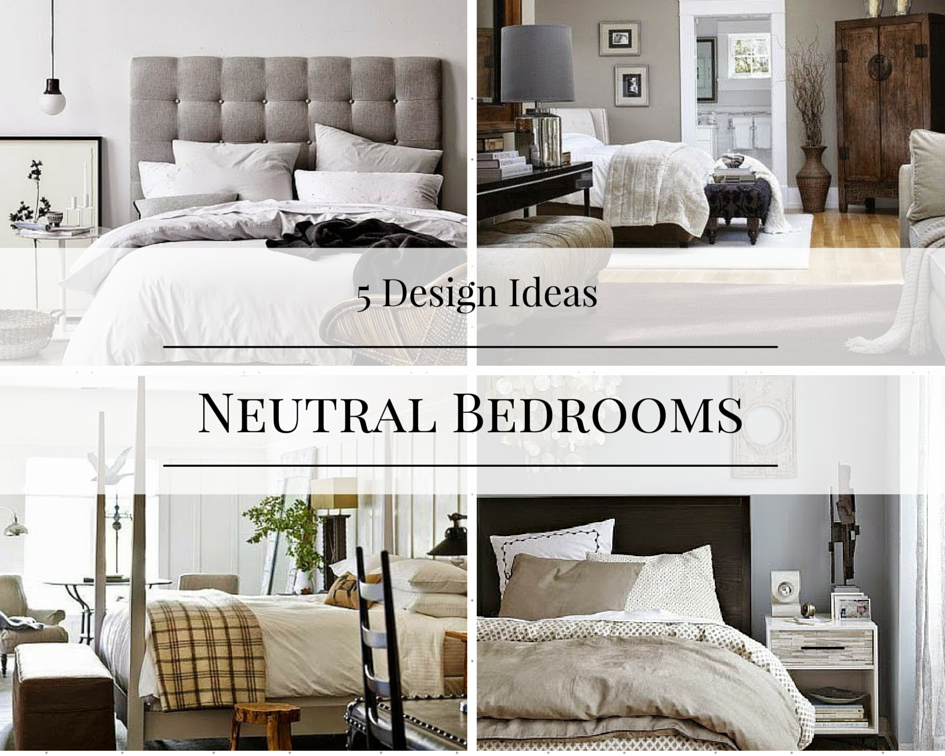 Bedroom Decor Tan black, tan, and white bedroom design ideas - how to: simplify