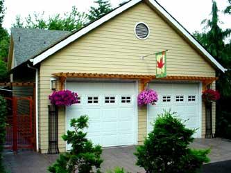 Arbor On Garage1