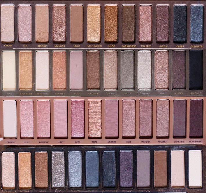 Best naked palette for brown eyes images 59