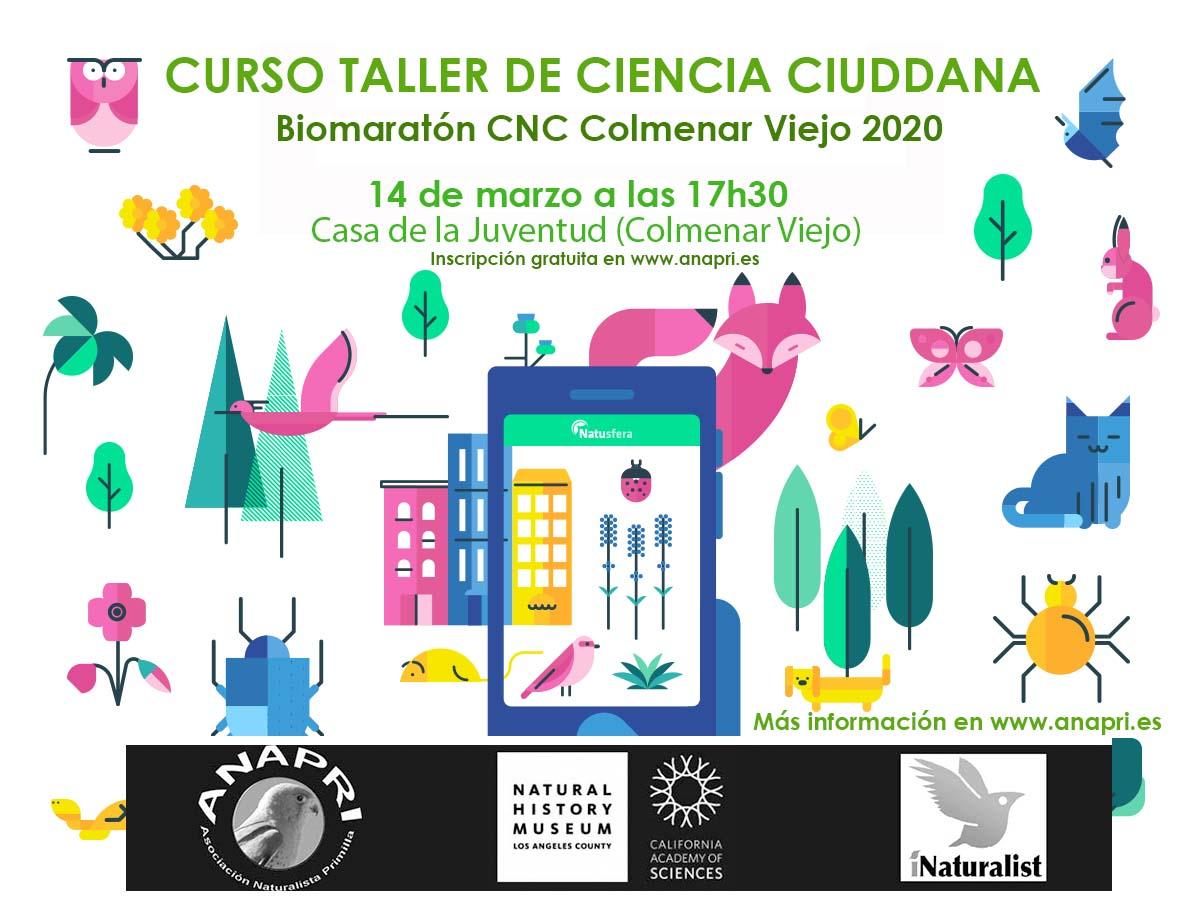 CURSO/TALLER CIENCIA CIUDADANA