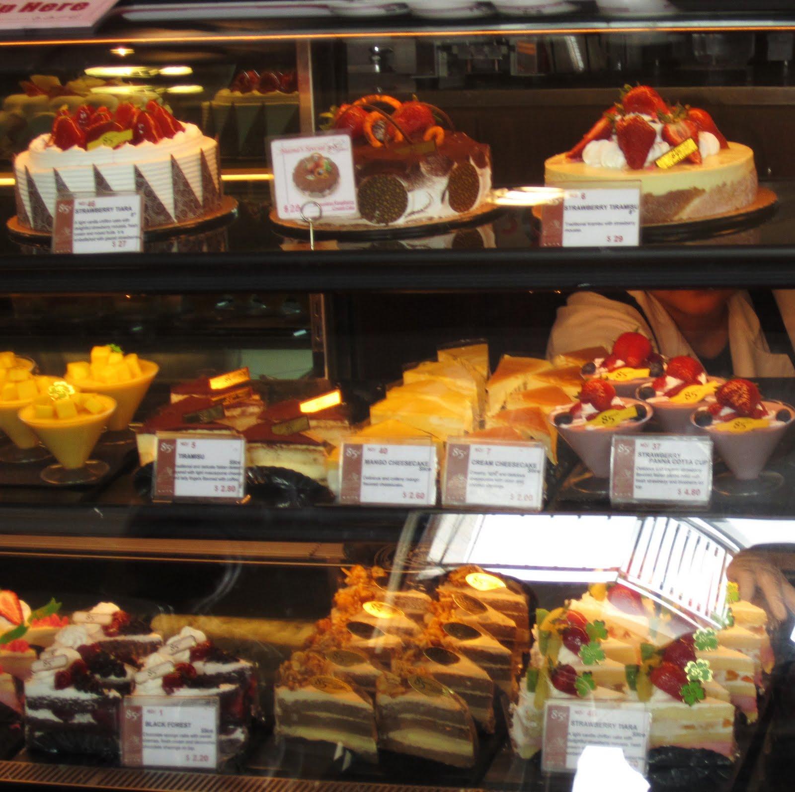 Revolving Styles Vintage: 85°C Bakery Cafe