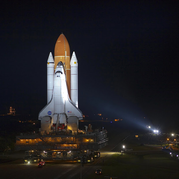 Space Shuttle Endeavour's Final Roll: the End of an Odyssey