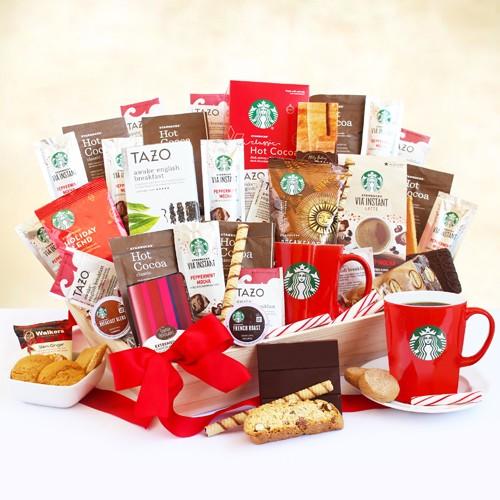 STARBUCKS COFFEE AND CHOCOLATE GIFTS