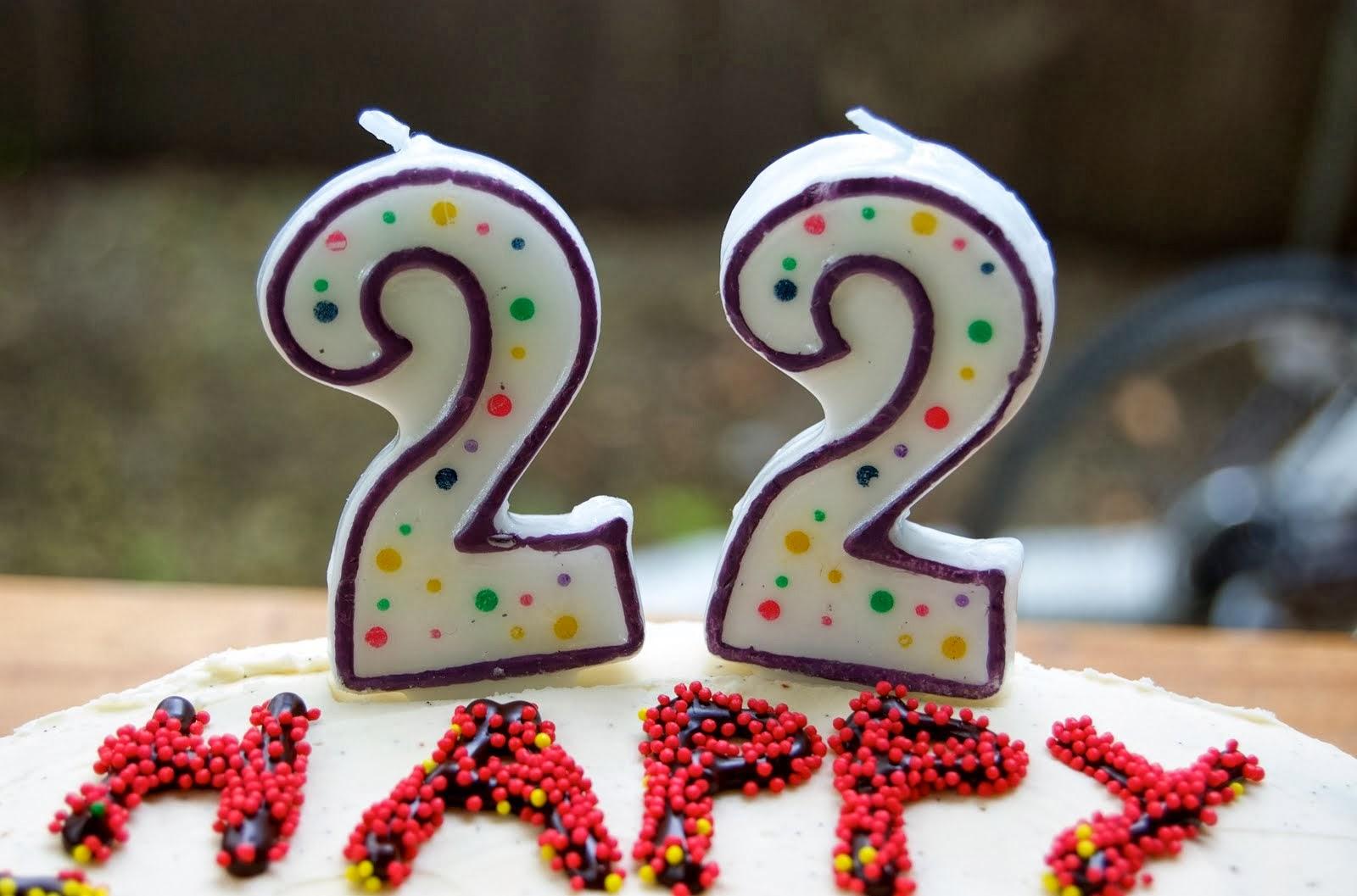 22. narodeniny