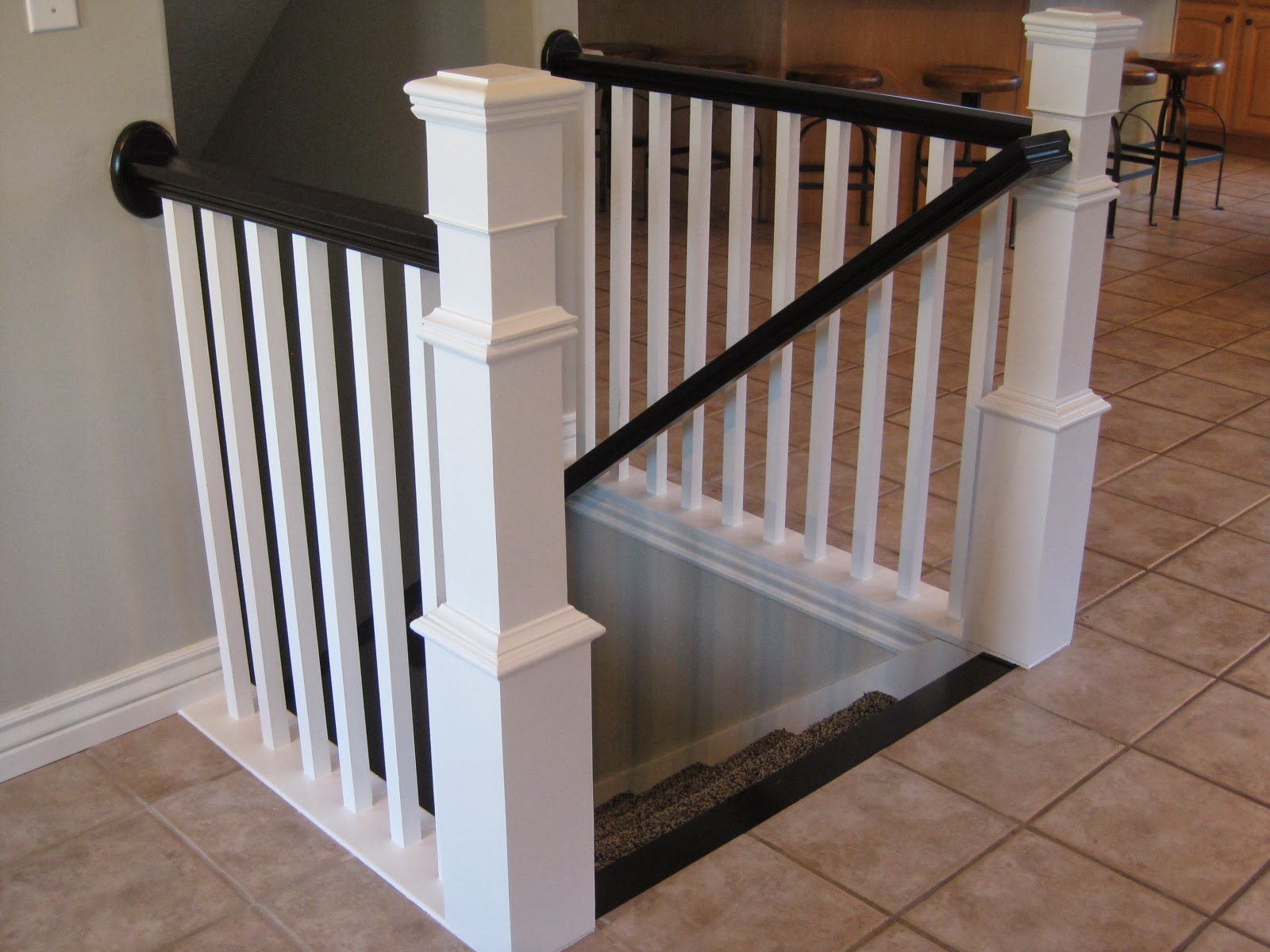 TDA Decorating And Design DIY Stair Banister Tutorial