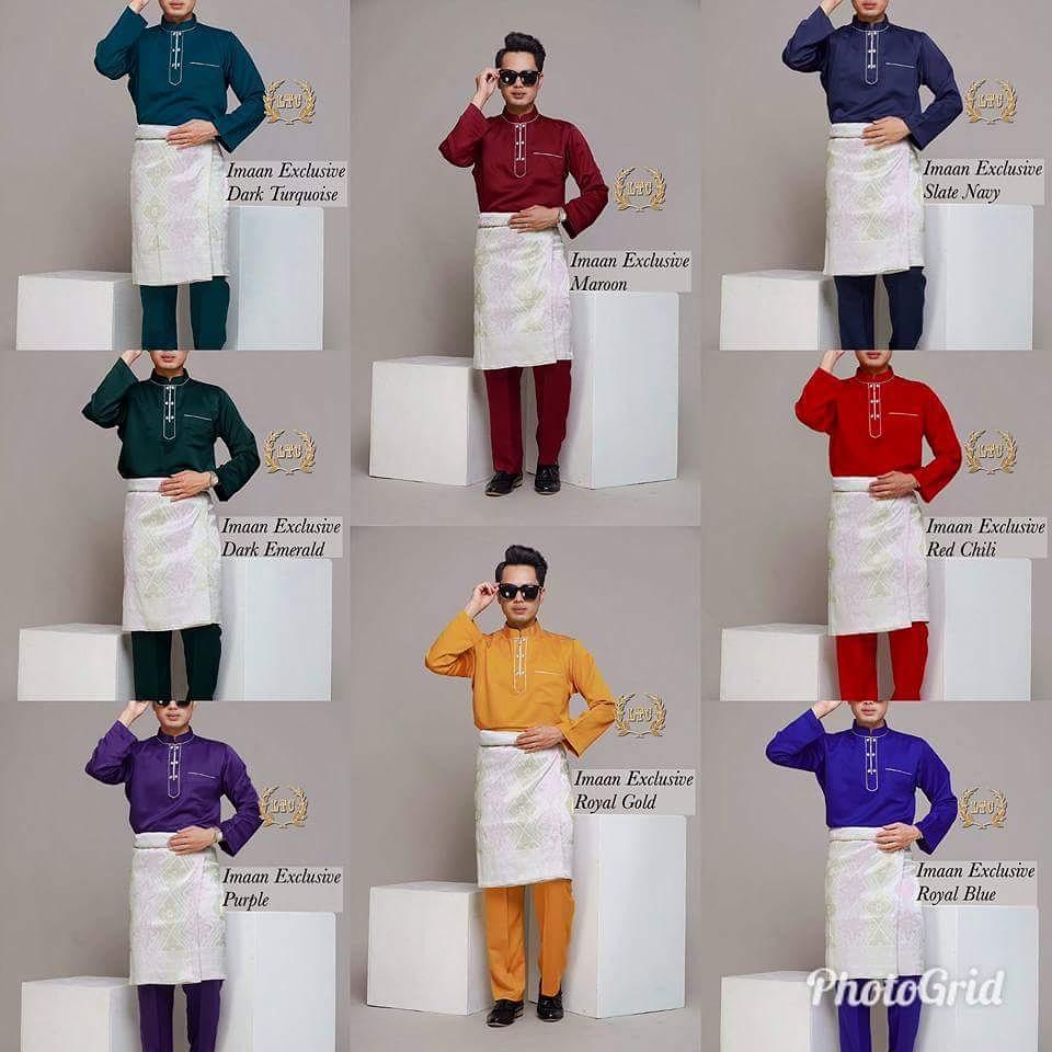 Koleksi baju melayu raya 2018 kini ready stok!