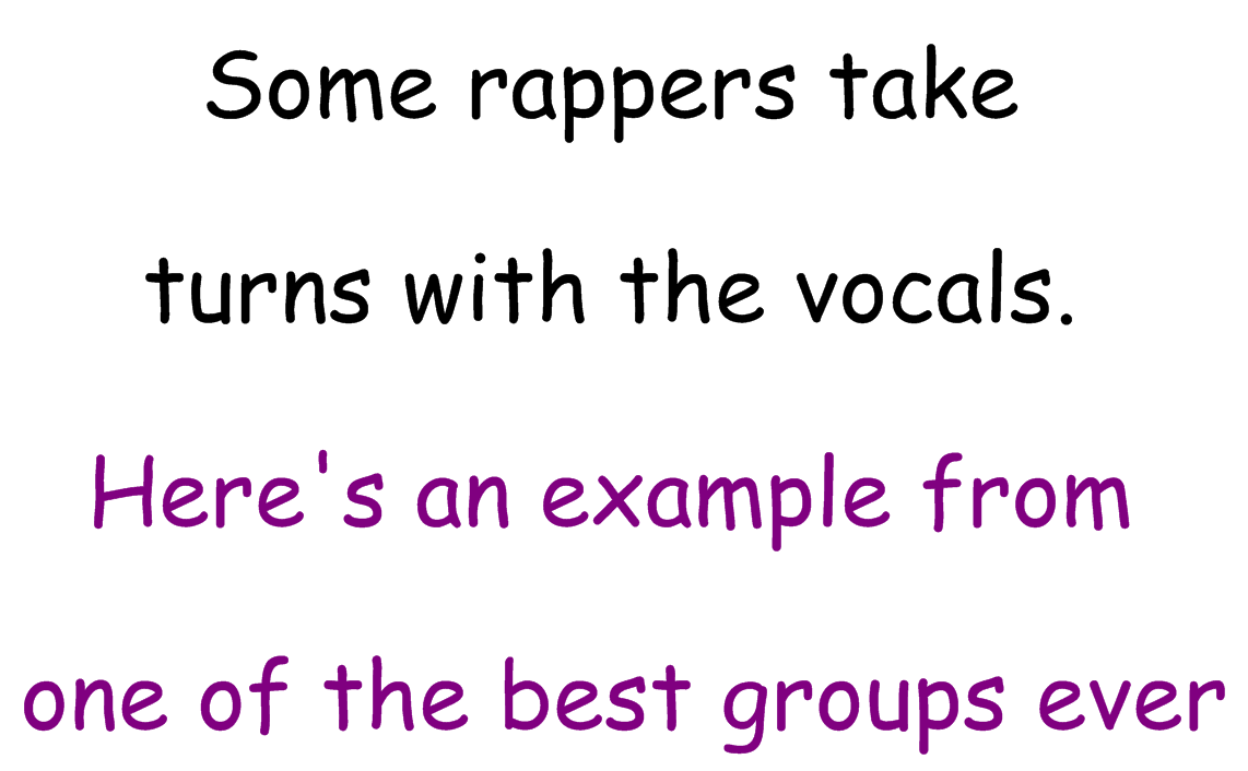 A Lesson Plan on the Structure of Rap Songs - Silent Cacophony